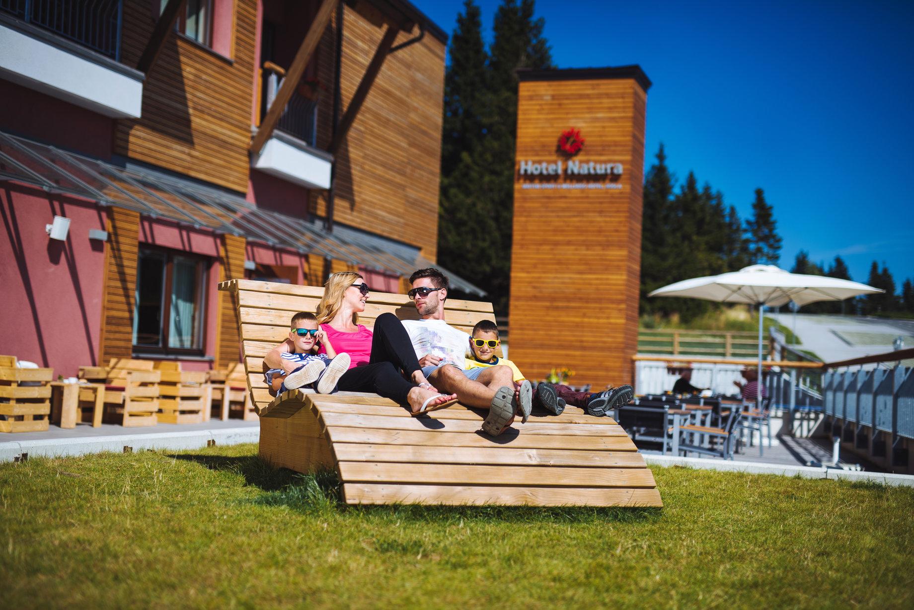 Hotel Natura terasa